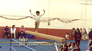 GG Trained to be an Olympic Gymnast?