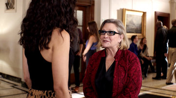Unseen Footage of Carrie Fisher on #GG2D!