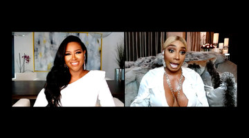 Nene Leakes and Kenya Moore Clash Within the First Minute of the Reunion Taping!