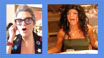 How Does Caroline Manzo Feel About Teresa Giudice's Iconic Table Flip Now?