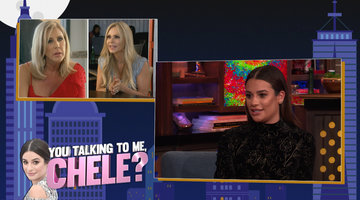 Lea Michele on Luann, NeNe & Kim