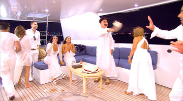 It's a #Shahs Cake Fight!