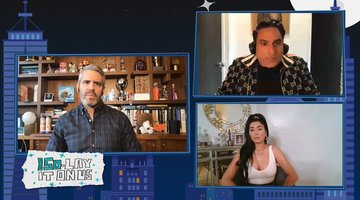 Reza Farahan on His Behavior at the Pool Party