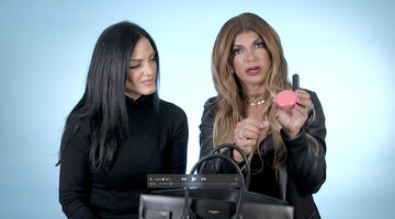 Teresa Giudice Shows Us Inside Her Beauty Bag