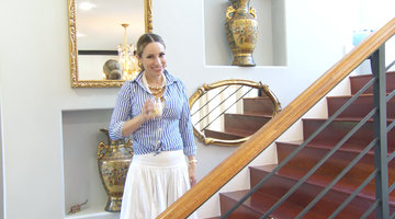Tour Mayra Farret's Sophisticated San Antonio Home