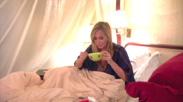 Sonja Morgan Does Not Do Well with Construction