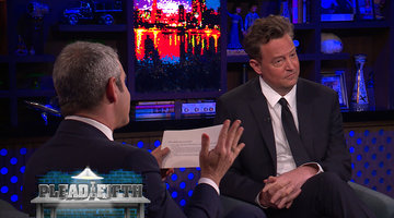 Matthew Perry Spills Some Tea about 'Friends'