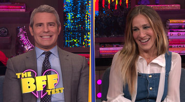 Sarah Jessica Parker & Andy Cohen Take The BFF Test