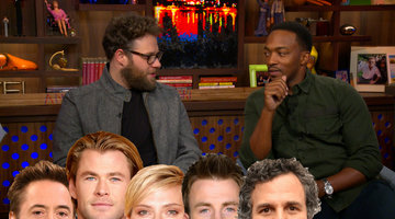 Anthony Picks Among his 'Avengers' Co-stars