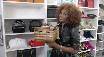 Cynthia Bailey Shows Off Her New Closet