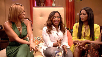 Phaedra Gives Her Side of That Sit Down with Kandi
