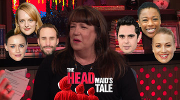Ann Dowd Dishes on her 'Handmaid's' Castmates