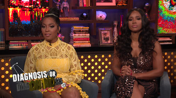 Toya & Contessa on #Married2Med Drama