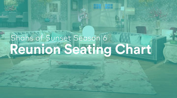 Check Out the Shahs of Sunset Season 6 Reunion Seating Chart