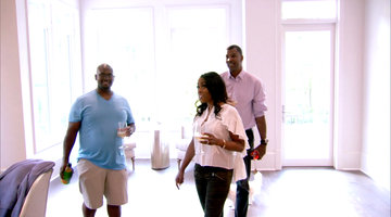 Toya Bush-Harris and Eugene Give Simone Whitmore and Cecil a Tour of Their New Home