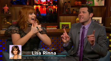 Lisa Rinna Calls into the Clubhouse for Billy!