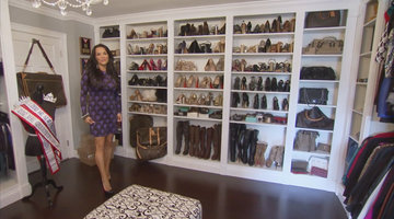 Vanassa's Louboutin-Filled House and Closet