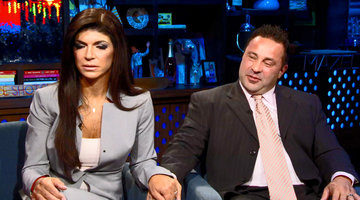 Teresa and Joe Giudice Talk Prison