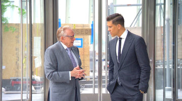 Fredrik Eklund Meets His Personal Hero