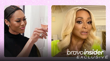 Did Karen Huger *Really* Invite Monique Samuels to Her Wig Party?!