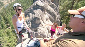 Danger Zone: The Housewives Go Repelling