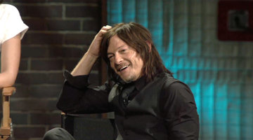 Watch Norman Reedus Find Out Daryl Should Have Died Season 1