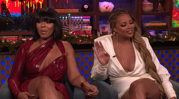 Kenya Moore Crashing Marlo Hampton's Party