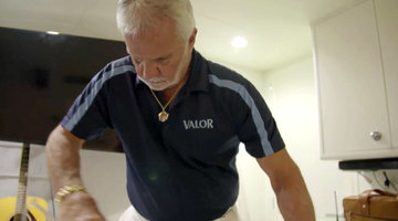 Captain Lee After Dark: Ironing