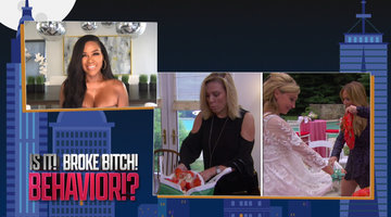 Kenya Moore on The Housewives' 'Broke B*tch' Behavior