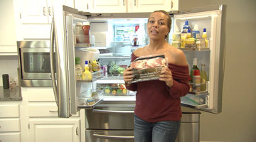 What Does Dolores Catania Keep in Her Very Healthy Refrigerator?