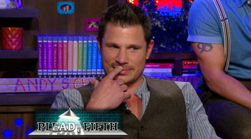 After Show: Nick Lachey Pleads the Fifth!