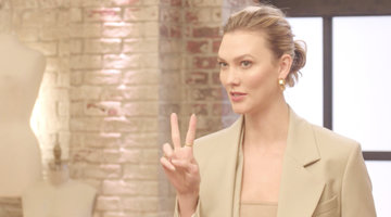 Karlie Kloss Just Delivered a Major Twist to the Project Runway Designers
