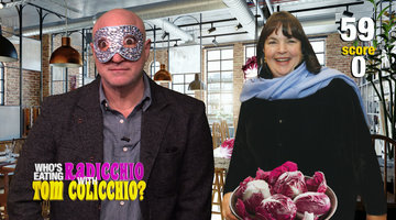 Who's Eating Radicchio with Tom Colicchio?