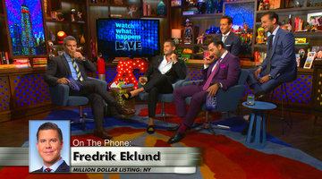 Fredrik Eklund Phones In!