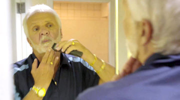Captain Lee After Dark: Shaving