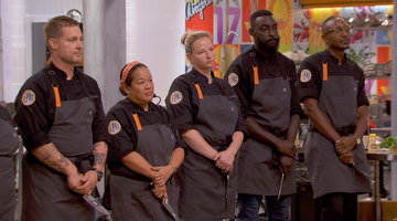 The Chefs Pair up for a Double Elimination Challenge