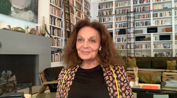 Diane von Furstenberg's Memorable Firsts