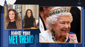 Catherine Zeta-Jones & Diane von Furstenberg on Meeting The Queen
