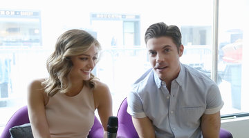 The Arrangement Stars Talk Celeb Crushes and First Dates