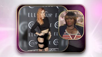 Rumer Willis' Pop of Color