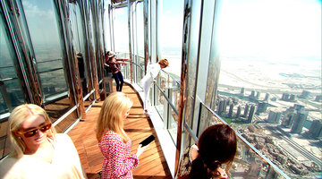 The 'Wives Visit the Burj Khalifa