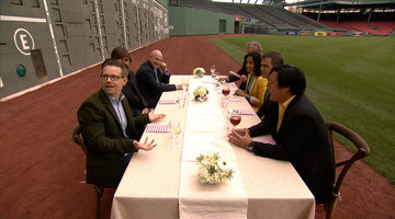 The Judges Arrive at the Green Monster