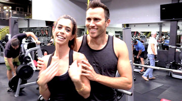 Lydia and Doug Hit the Gym
