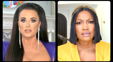 Kyle Richards Accuses Garcelle Beauvais of Not Paying Up at Her Charity Event