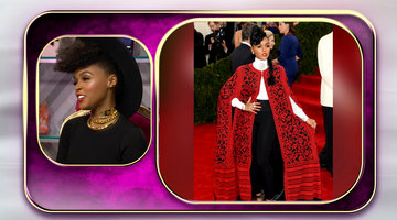 Janelle's 'Game of Thrones'-Inspired Met Gala Cape