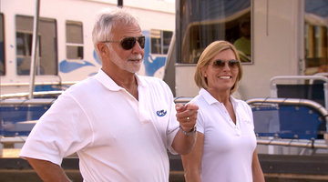 Below Deck's Captain Lee and Captain Sandy Welcome the Chefs to Their New Kitchen