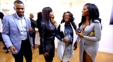 Porsha Williams Walks Out on Kandi Burruss