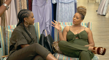 "Eva Marcille Says She ""Doesn't Know"" Kenya Moore"