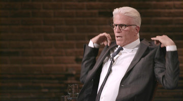 Ted Danson Talks Working with Tom Selleck
