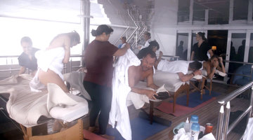 These Below Deck Charter Guests Get an Unforgettable Massage...